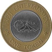 Amusement token - Freij Entertainment (Smaller Inner Circle) – revers