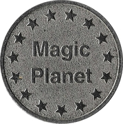 Amusement Token - Magic Planet – avers
