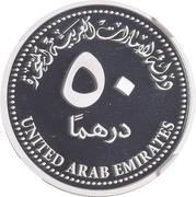 50 Dirhams - Khalifa (Oumolat) – revers