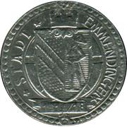 5 pfennig - Emmendingen – avers