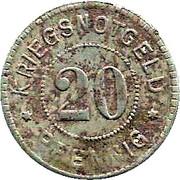 20 pfennig - Emmendingen – revers