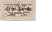 10 Pfennig (Emmendingen) – avers
