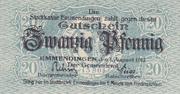 20 pfennig – avers