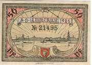 50 Pfennig (Stadt Emmerich) – revers