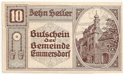 10 Heller (Emmersdorf) -  avers