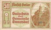 50 Heller (Emmersdorf) -  avers