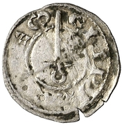 Obolo Pons Hugues IV – avers