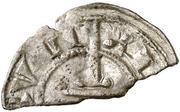 Obolo Hugues III dinero divisé – avers