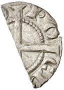 Obolo Pons Hugues IV dinero divisé – revers