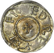 1 Penny - Ælfred (3rd coinage) – avers