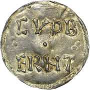 1 Penny - Ælfred (3rd coinage) – revers