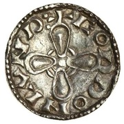 Penny - Harthacnut (Jewel Cross type) -  revers