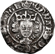 1 Penny - Edward IV (1st reign; Light coinage) – avers