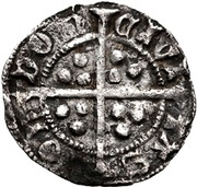 1 Penny - Edward IV (1st reign; Light coinage) – revers