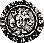 1 Penny - Richard II (type III) – avers