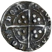 1 Penny - Edward IV (2nd reign) – revers