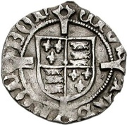 1 Penny - Henry VII (London mint) – revers