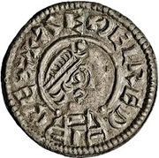 Penny - Æthelred I (Type lunettes) – avers