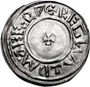 1 Penny - Æthelstan – revers