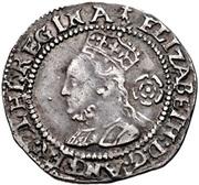 3 Pence - Elizabeth I -  avers
