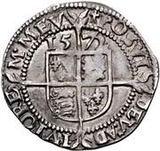 3 Pence - Elizabeth I -  revers