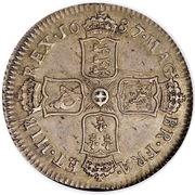1 shilling Jacques II -  avers