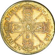 5 livres Guillaume III (guinée, 1ère effigie) -  revers