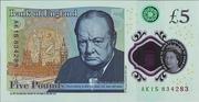 5 Pounds United Kingdom – revers