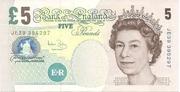 5 Pounds - Queen Elizabeth II (Elizabeth Fry) – avers
