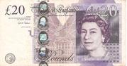 20 Pounds - Queen Elizabeth II (Adam Smith) – avers