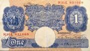 1 Pound (Britannia, WWII) – avers