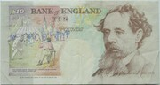 10 Pounds (Dickens, two denominations) – revers
