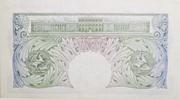 1 Pound (Britannia, no thread) – revers