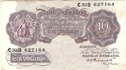 10 Shillings (Britannia, WWII) – avers