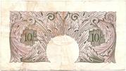 10 Shillings (Britannia, WWII) – revers