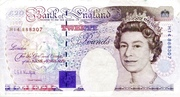 20 Pounds (Faraday, two denominations) – avers