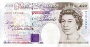 20 Pounds (Faraday, four denominations) – avers