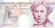 20 Pounds (Faraday, four denominations) – revers