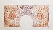 10 Shillings (Britannia, no thread) – revers