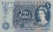 5 Pounds (Portrait Series) – avers