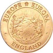 ENGLAND ONE ECU – avers
