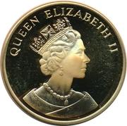 25 Euro - Elizabeth II (Hong Kong returns to China) – avers
