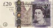 20 Livres - Movie Money (Adam Smith) – avers