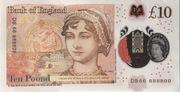 10 Livres - Movie Money (Jane Austen) – revers