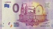 0 euro London – avers