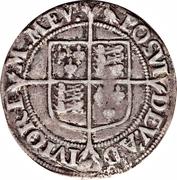 1 Shilling - Elizabeth I -  revers