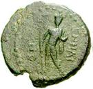 Bronze Æ21 (Enna) – avers