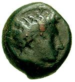 Bronze Æ15 (Enna) – avers