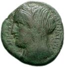 Bronze Æ20 (Enna) – avers