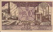 20 Heller (Enzesfeld) -  avers